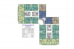 tòa 104 chung cư goldmark city