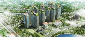 Mặt bằng tổng thể dự án Goldmark City - 136 Hồ Tùng Mậu