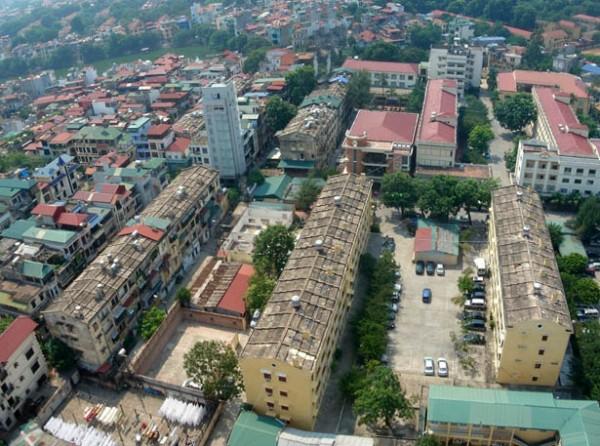 Vấn đề cải tạo các tiểu khu nhà ở Hà Nội